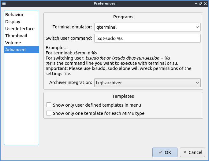 Chapter 2 4 4: PCManFM-Qt — Lubuntu Manual 19 04 documentation